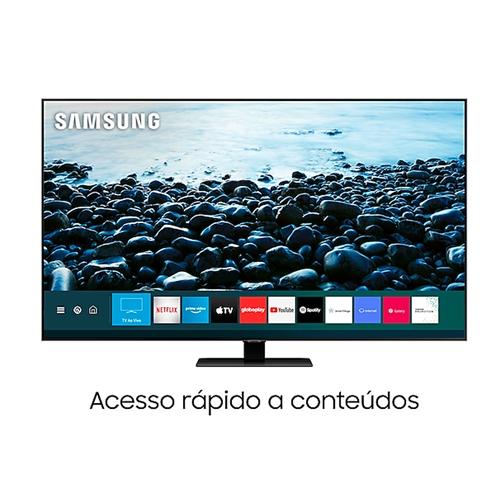 """Tv 75"""" Qled Samsung 4k - Ultra Hd Smart - Qn75q80t"""