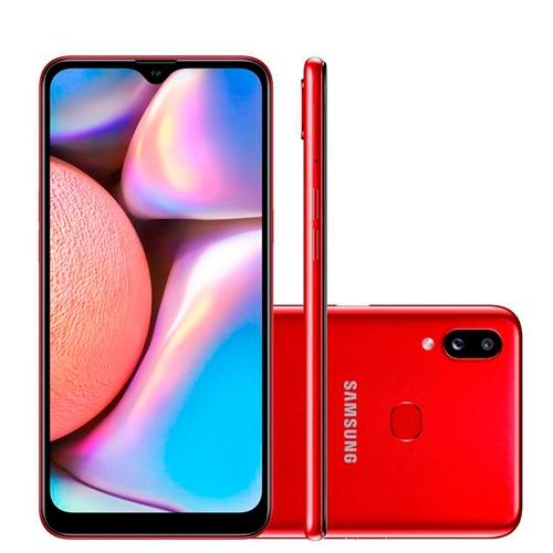 Celular Smartphone Samsung Galaxy A10s A107m 32gb Vermelho - Dual Chip