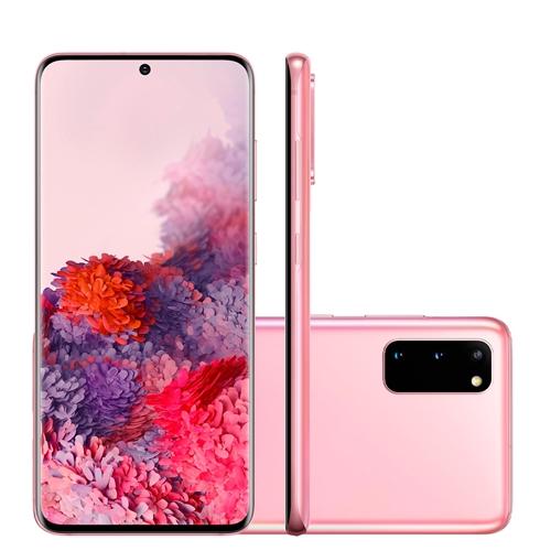 Celular Smartphone Samsung Galaxy S20 128gb Rosa - Dual Chip